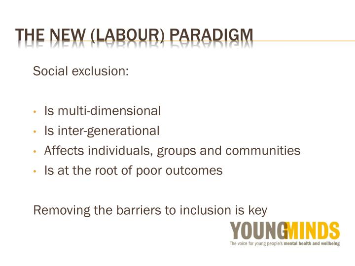 The New (labour) Paradigm