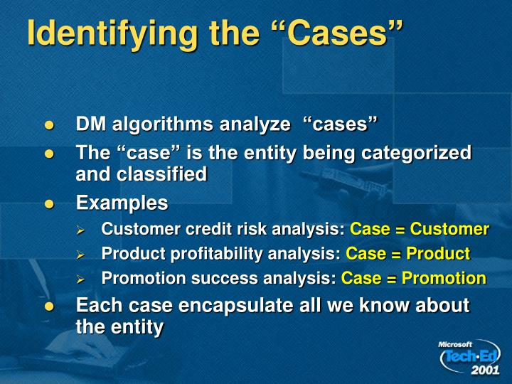 """Identifying the """"Cases"""""""