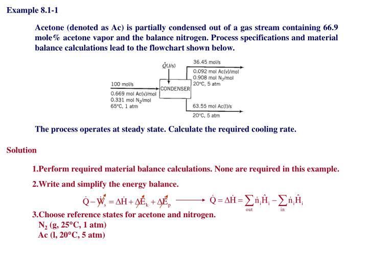 Example 8.1-1