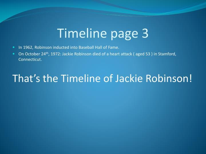 Timeline page 3