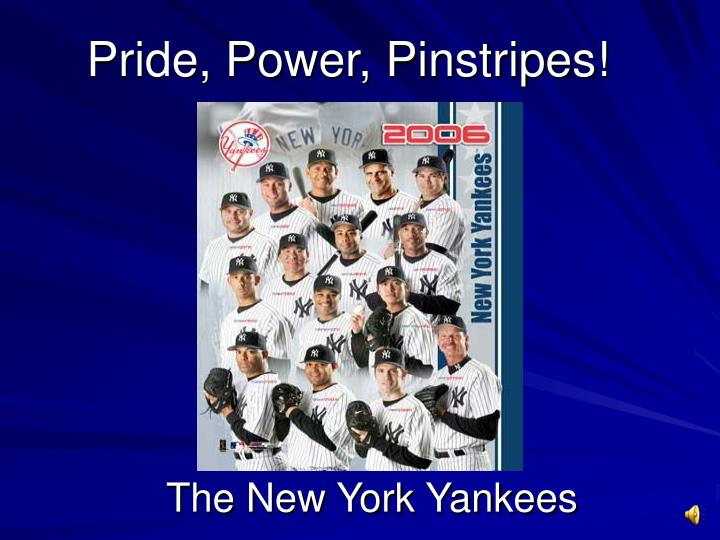 Pride power pinstripes