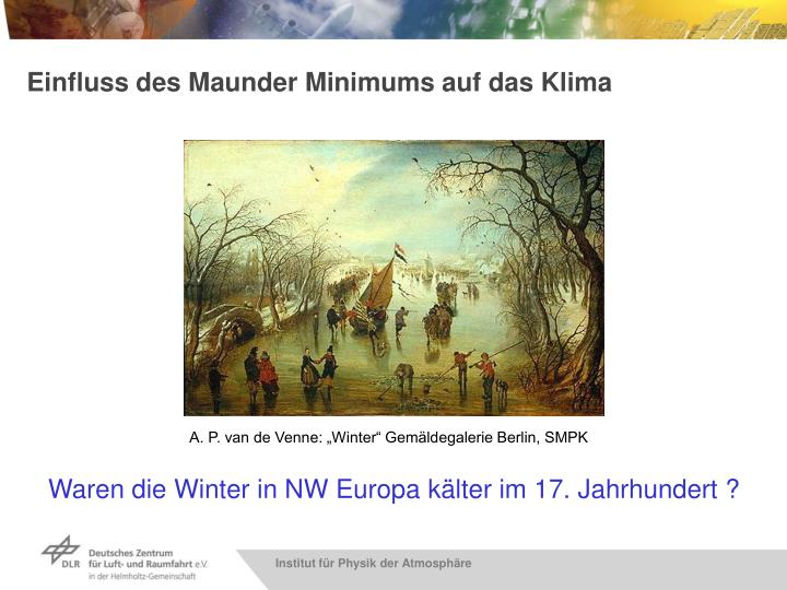 "A. P. van de Venne: ""Winter"" Gemäldegalerie Berlin, SMPK"