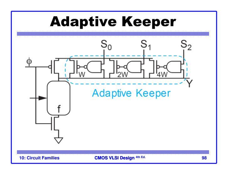 Adaptive Keeper
