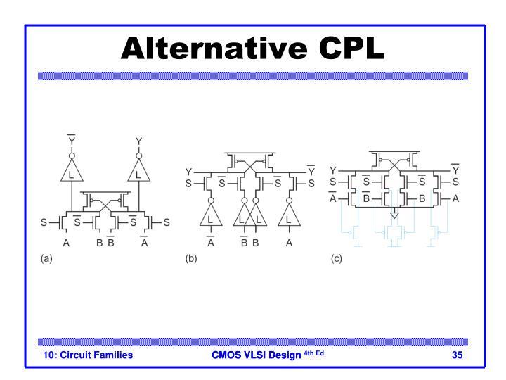 Alternative CPL