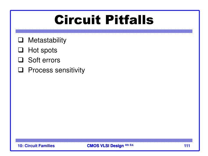 Circuit Pitfalls