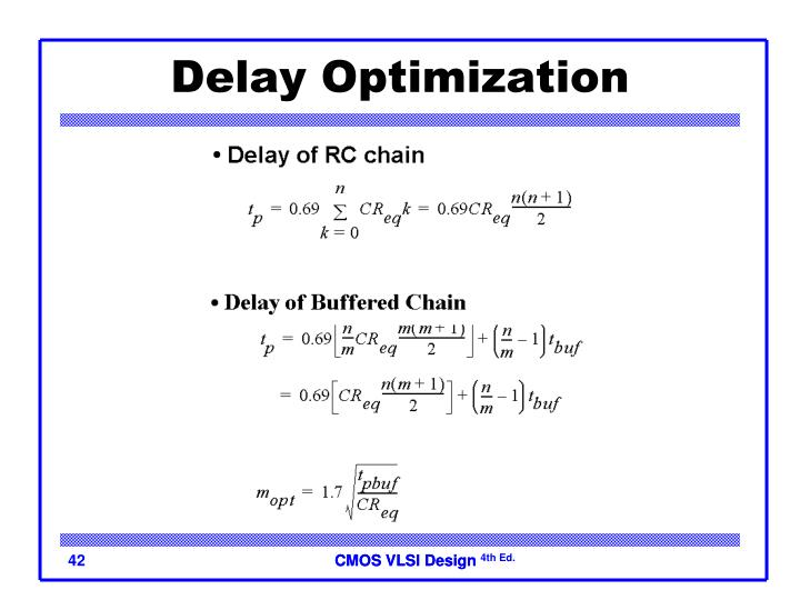Delay Optimization