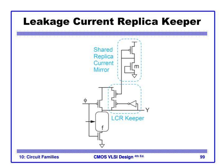 Leakage Current Replica Keeper