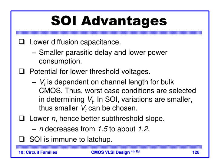 SOI Advantages