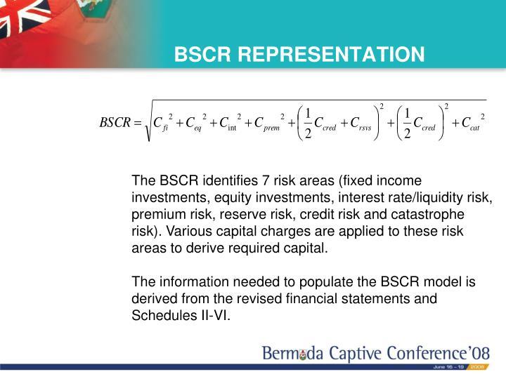 BSCR REPRESENTATION
