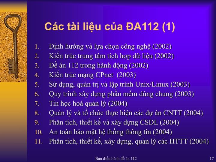 Các tài liệu của ĐA112 (1)