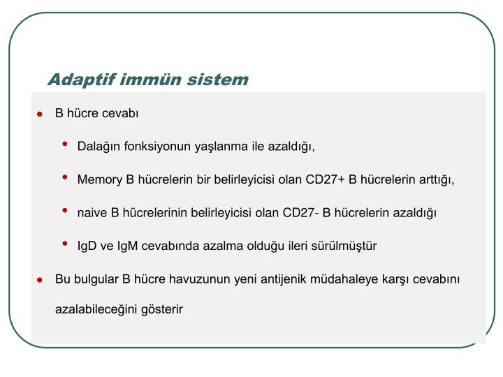 Adaptif immn sistem