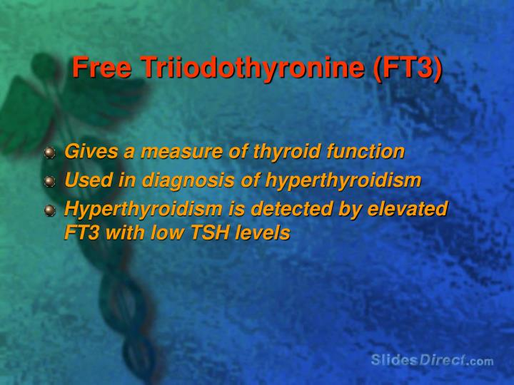 Free Triiodothyronine (FT3)