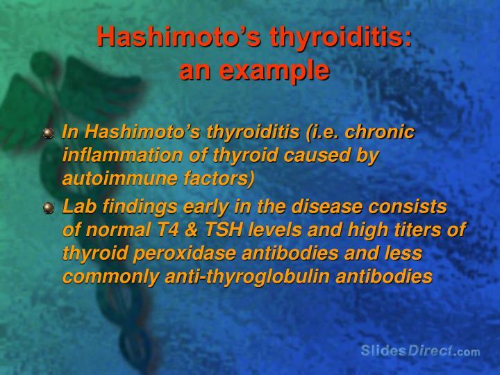Hashimoto's thyroiditis: