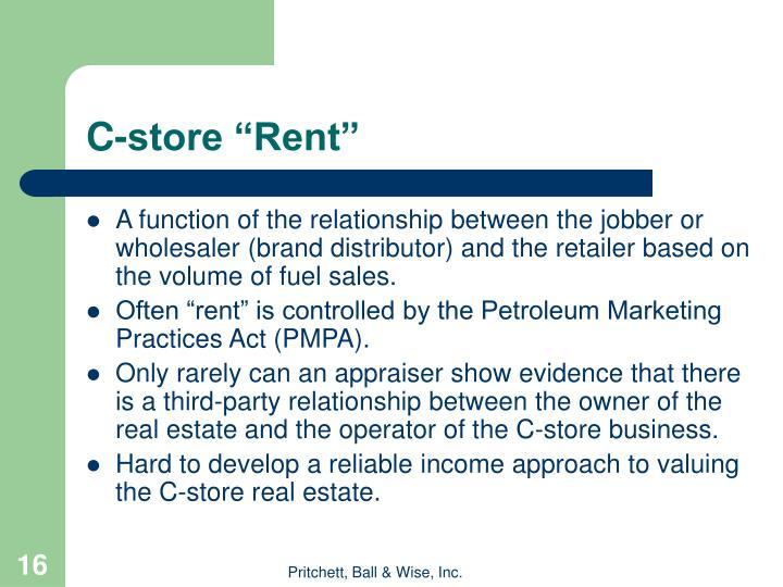 """C-store """"Rent"""""""