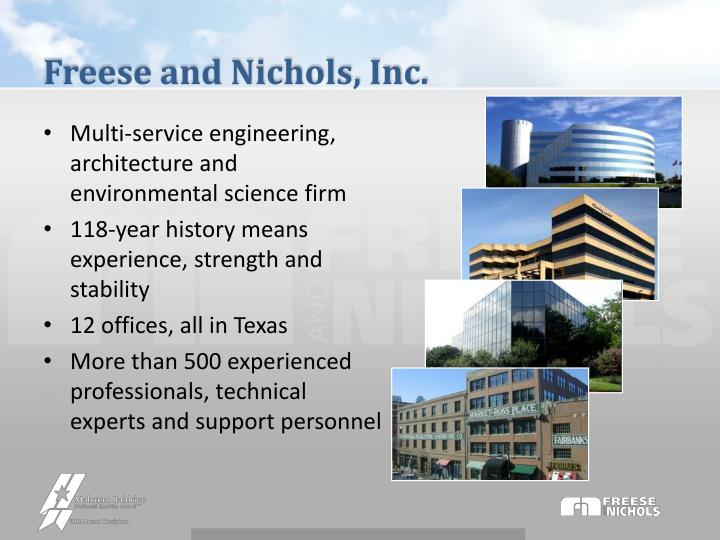 Freese and Nichols, Inc.