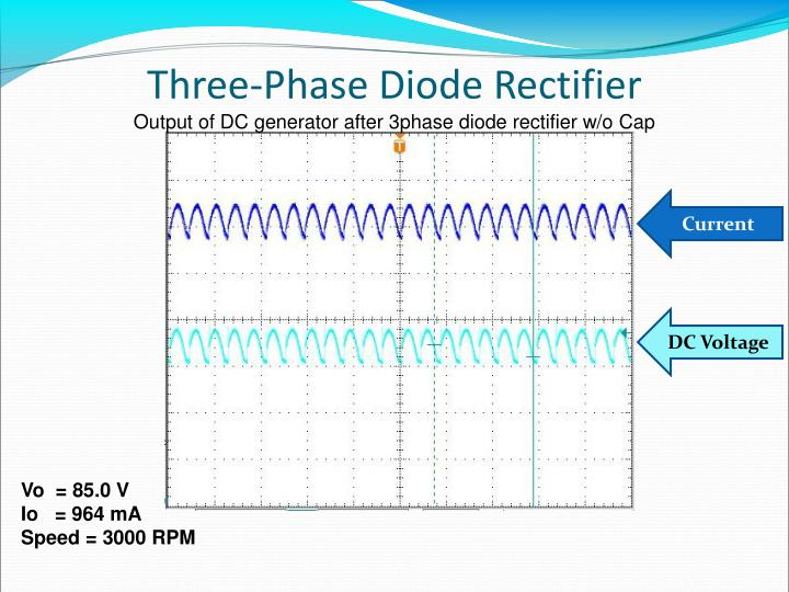 Three-Phase Diode Rectifier