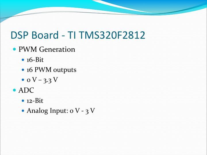 DSP Board - TI TMS320F2812