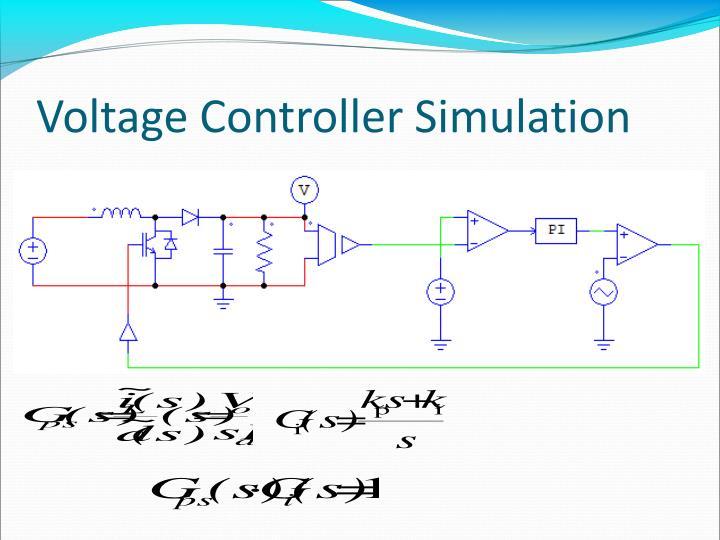 Voltage Controller Simulation