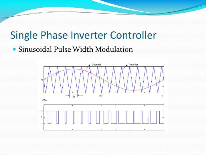 Single Phase Inverter Controller