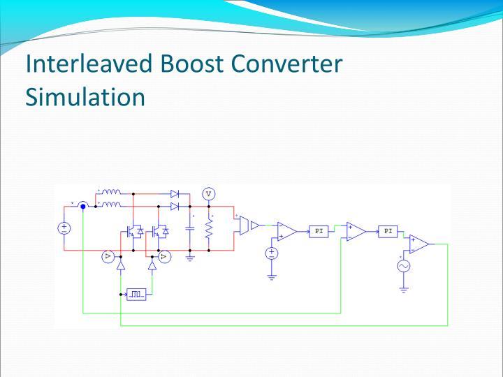 Interleaved Boost Converter