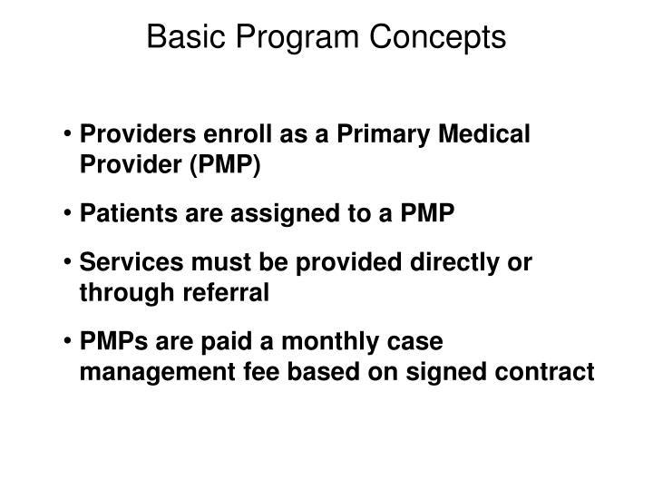 Basic Program Concepts