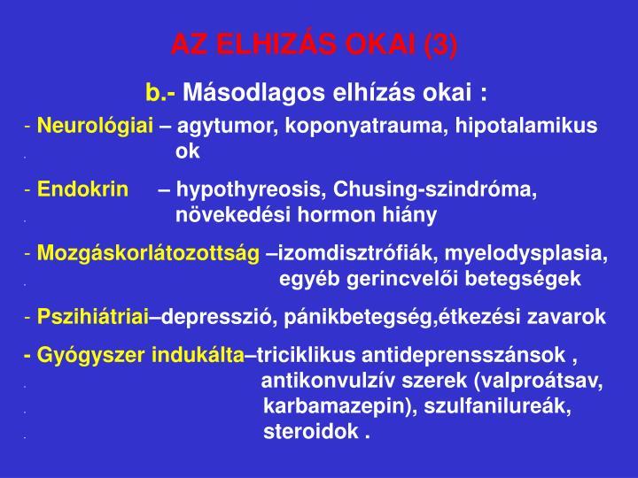 AZ ELHIZÁS OKAI (3)