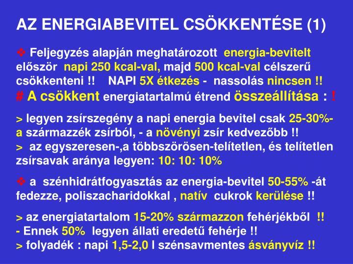 AZ ENERGIABEVITEL