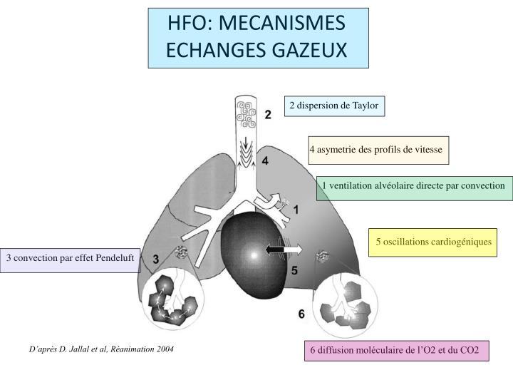 HFO: MECANISMES