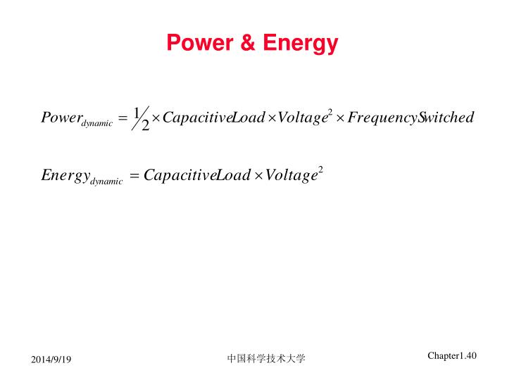 Power & Energy