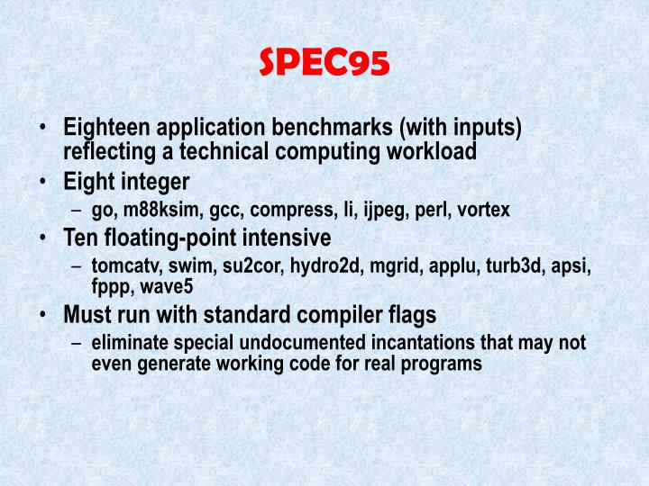 SPEC95