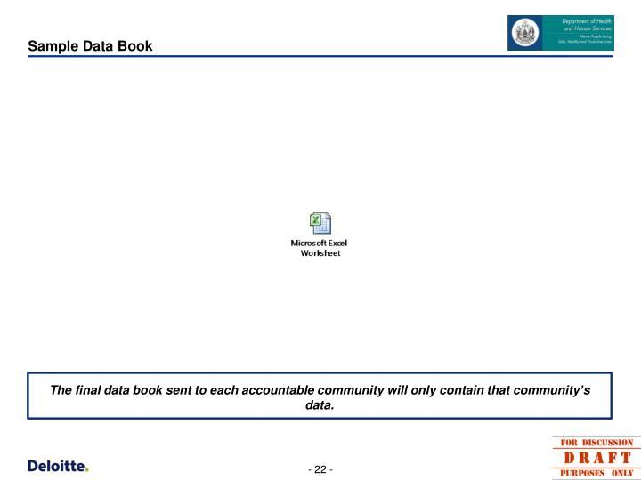 Sample Data Book
