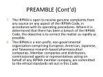 preamble cont d3
