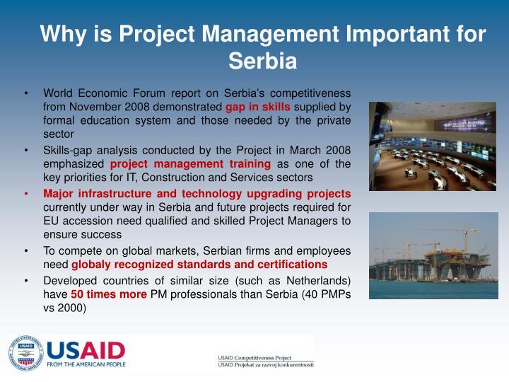 Why is Project Management Important for Serbia