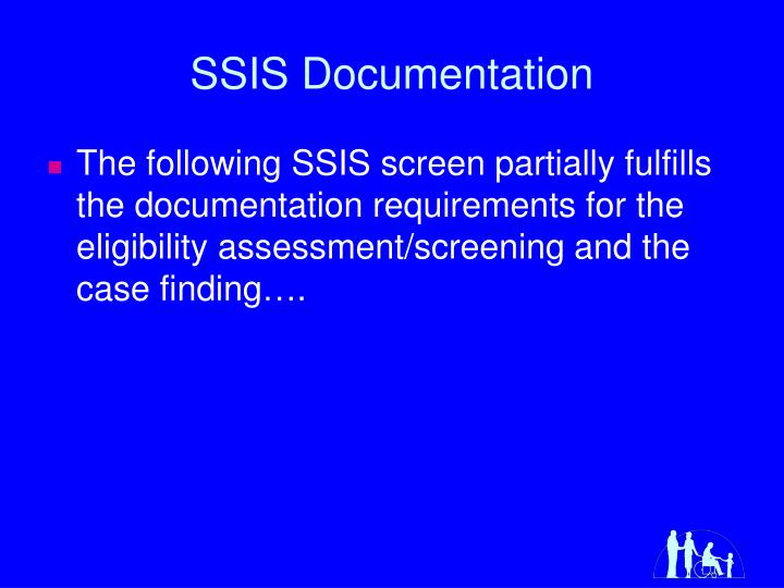 SSIS Documentation