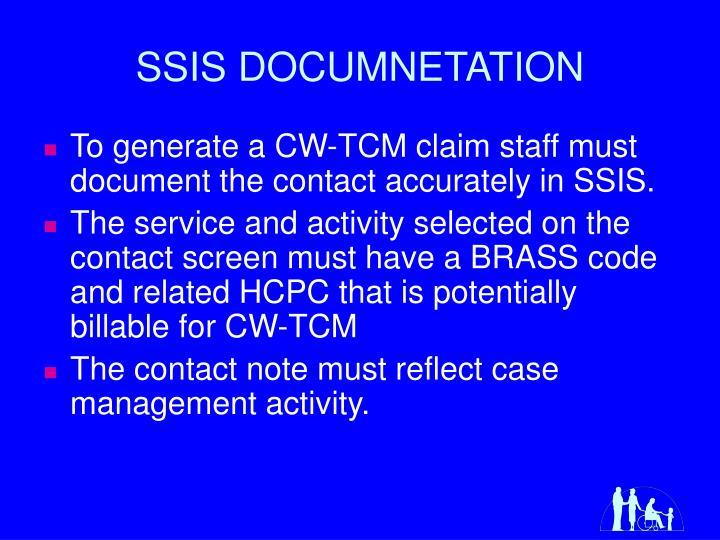 SSIS DOCUMNETATION