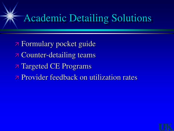 Academic Detailing Solutions