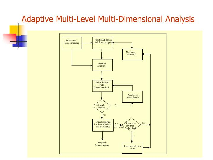 Adaptive Multi-Level Multi-Dimensional Analysis