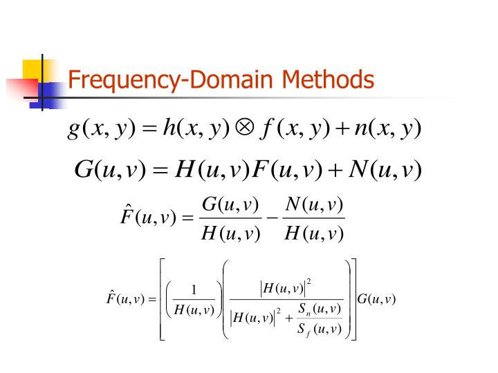 Frequency-Domain Methods