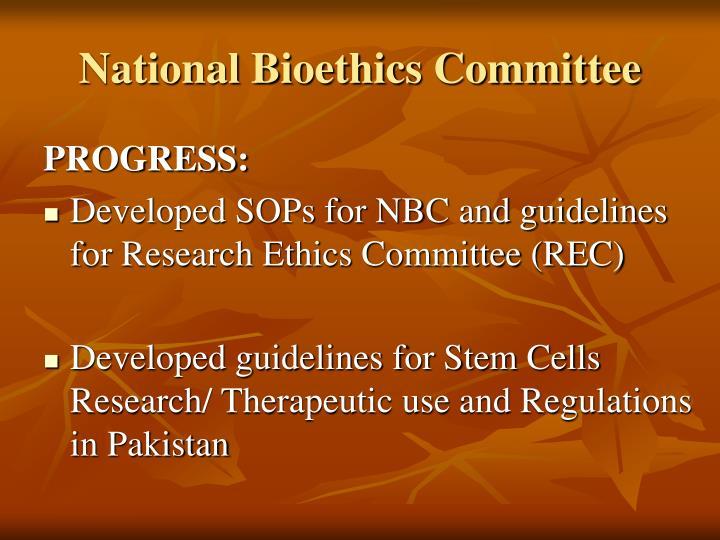 National Bioethics Committee