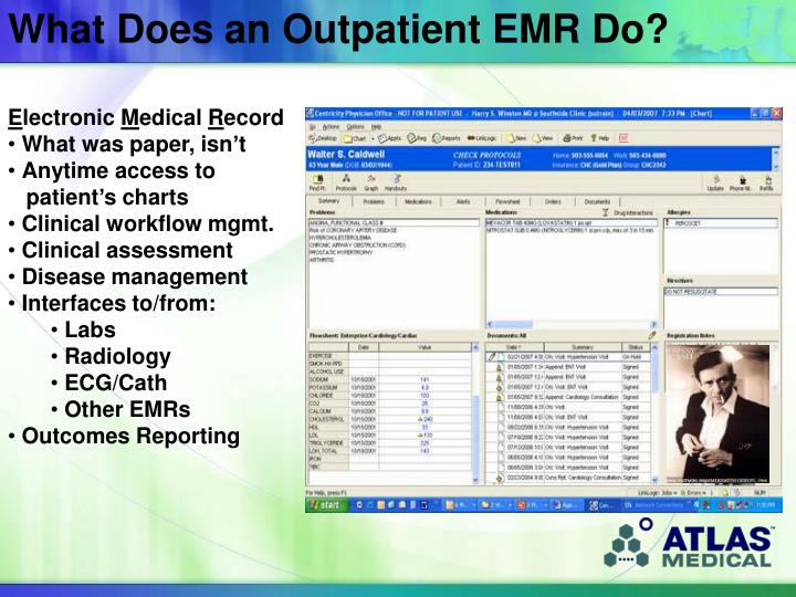 What Does an Outpatient EMR Do?