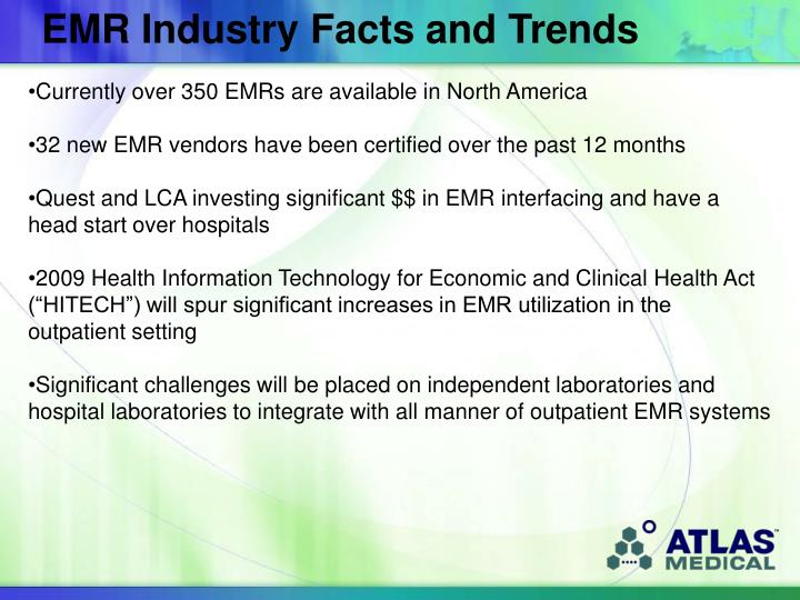 EMR Industry Facts and Trends