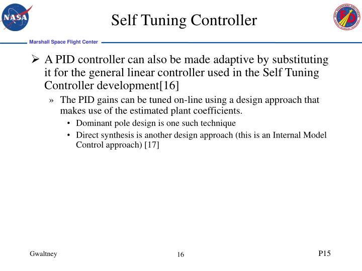 Self Tuning Controller