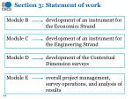 section 3 statement of work