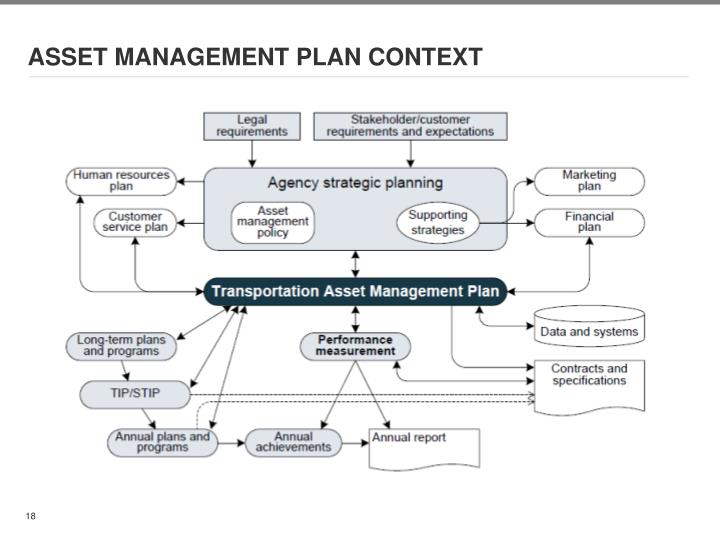 ASSET MANAGEMENT PLAN CONTEXT