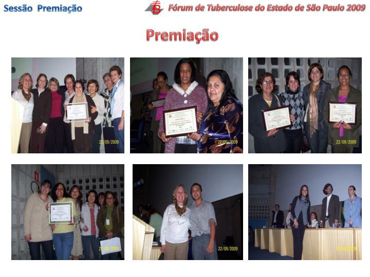Sessão  Premiação