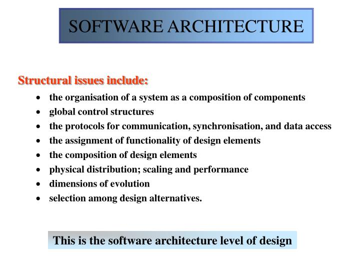 Software architecture2