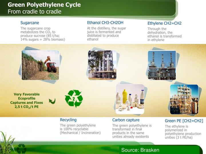 Green Polyethylene Cycle
