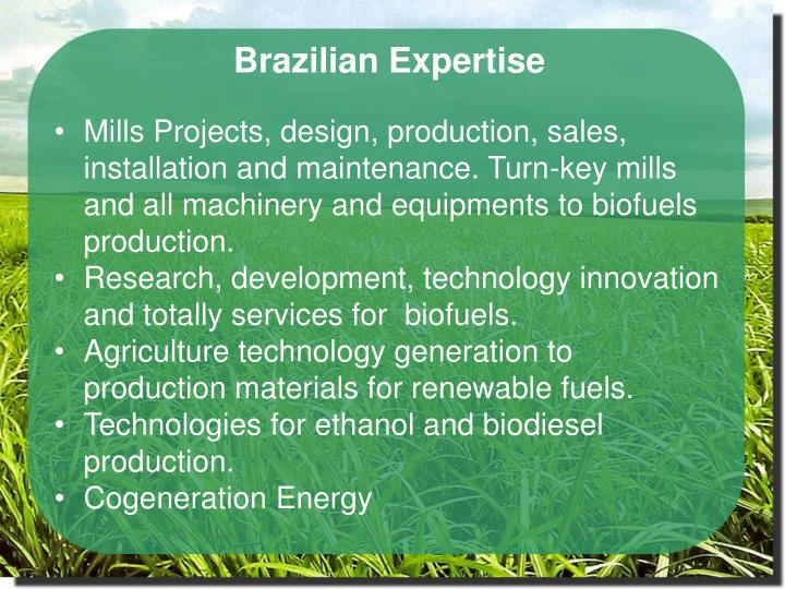 Brazilian Expertise