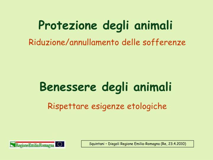 Protezione degli animali