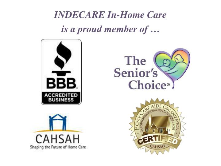 INDECARE In-Home Care